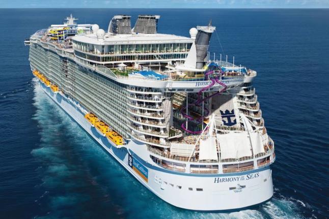 Turismo Turismo El 'Harmony of the Seas' llega a España