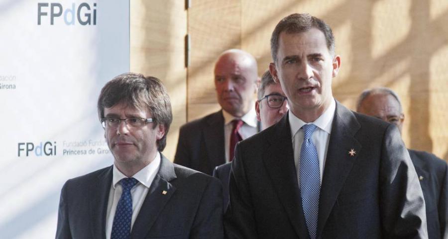 Casa Real Casa Real El Rey defiende en Cataluña una sociedad plural y sin enfrentamiento