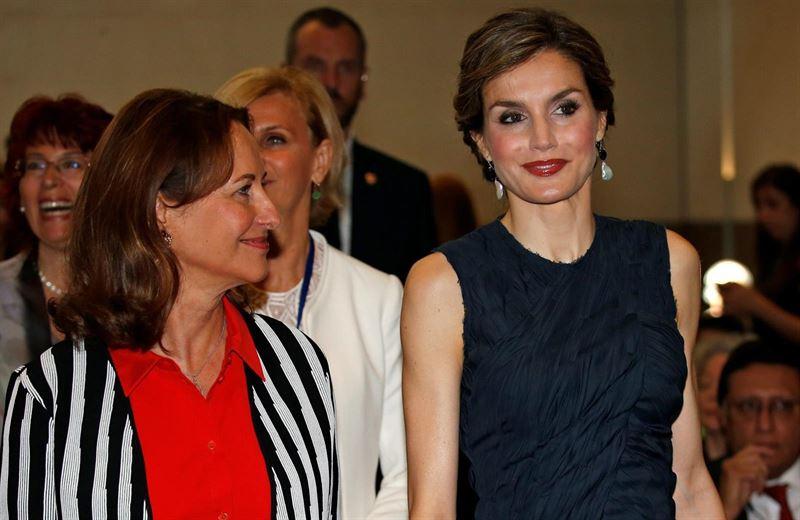 Casa Real Casa Real La Reina Letizia, preocupada por la desnutrición y la obesidad en París