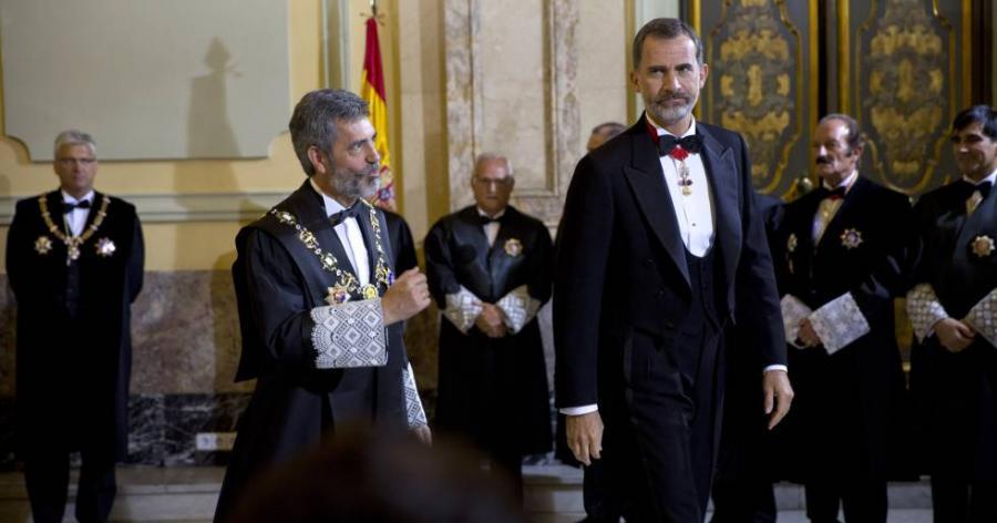 """Catalunya Catalunya El presidente del Poder Judicial defiende la """"rabiosa independencia"""" de los jueces contra la corrupción"""