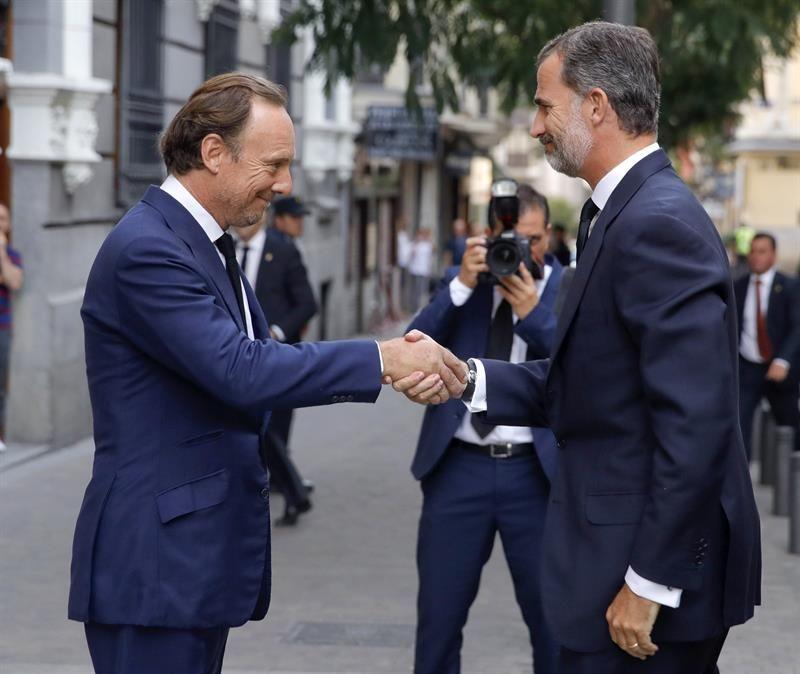 Casa Real Casa Real El Rey asiste al funeral por el duque de Medinaceli