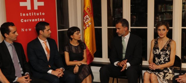 Casa Real Casa Real Los Reyes visitan el Instituto Cervantes de Nueva Yok