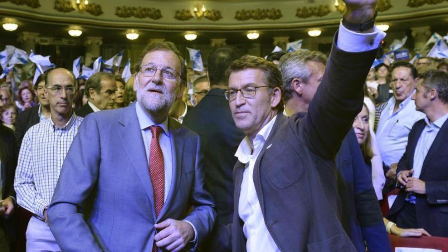 Actualidad Noticias La victoria de Feijóo y la debacle socialista refuerzan a Rajoy y debilitan a Sánchez