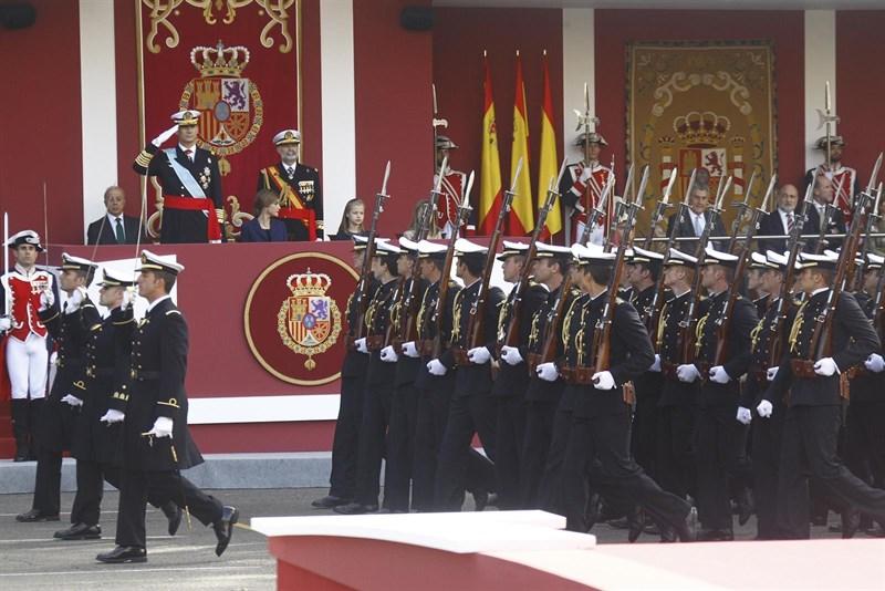 Casa Real Casa Real Los Reyes presiden el 12 de octubre con Gobierno en funciones y sin jefe de la oposición