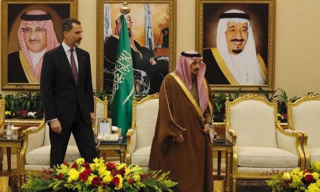 Casa Real Casa Real Felipe VI llega a Arabia Saudí en un viaje marcado por los Derechos Humanos