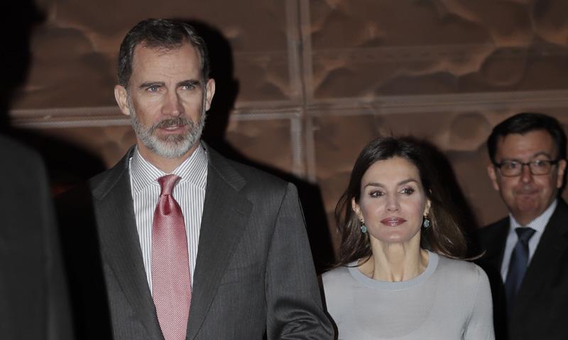 Casa Real Casa Real Los reyes Felipe y Letizia entregan juntos las becas de la Caixa